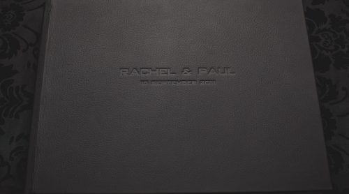 Queensberry Wedding Album - Leather Cover