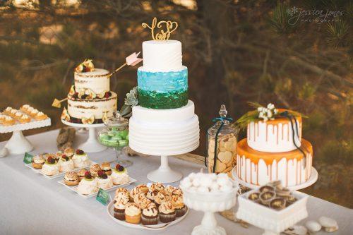 Styled Shoot Blenheim Wedding - Sweet Creations