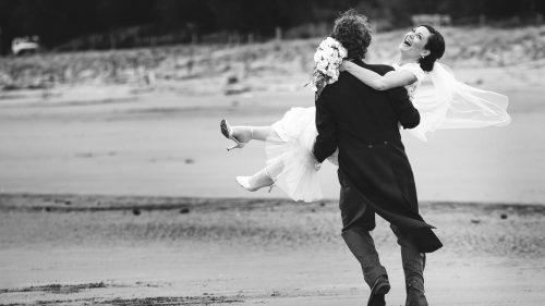 Nelson Beach Wedding