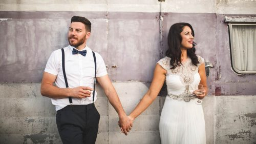 Marlborough Sounds Wedding Couple