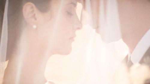 Marlborough Bride and Groom Closeup