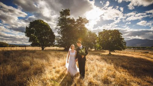 Blenheim Bride and Groom - Photography